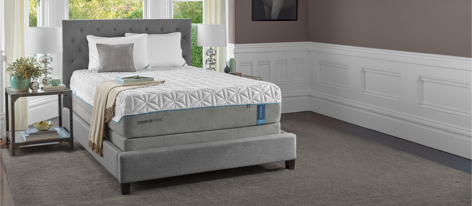 tempur cloud luxe mattress tempur pedic. Black Bedroom Furniture Sets. Home Design Ideas